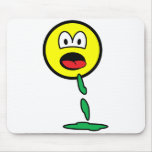 Vomiting smile   mousepad