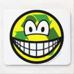 Recycle smile   mousepad