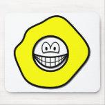 Play dough smile   mousepad