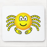 Cancer emoticon Zodiac sign  mousepad