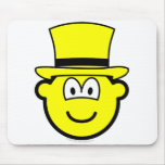 Yellow hat buddy icon Six Thinking Hats - Speculative positive  mousepad