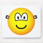 Ear plugs emoticon   mousepad