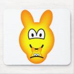 Kangaroo emoticon   mousepad