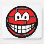 Stoned smile   mousepad