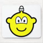 Christmas ball buddy icon   mousepad