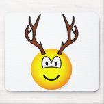 Deer emoticon   mousepad