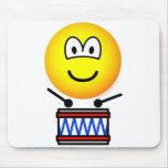 Drumming emoticon Drum  mousepad