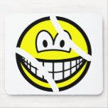 Tennisball smile   mousepad
