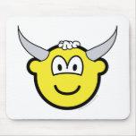 Bull buddy icon   mousepad