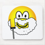 Shaving emoticon   mousepad