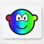 Rainbow buddy icon Colours  mousepad
