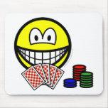 Poker smile   mousepad