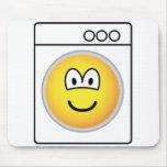 Washmachine emoticon   mousepad