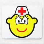 Nurse buddy icon   mousepad