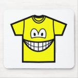T-shirt smile   mousepad