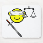Justice buddy icon   mousepad