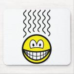Smelly smile   mousepad