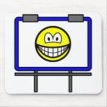 Billboard smile   mousepad