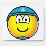 UN soldier emoticon   mousepad