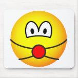 SM emoticon   mousepad