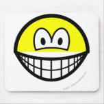 Half smile top  mousepad