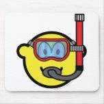 Snorkel buddy icon   mousepad