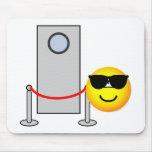 Bouncer emoticon   mousepad