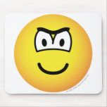 Frowning emoticon   mousepad