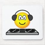 DJ emoticon   mousepad