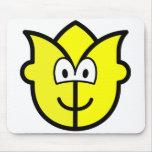 Tulip buddy icon   mousepad
