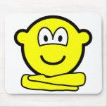 Yoga buddy icon   mousepad