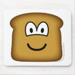 Bread emoticon   mousepad