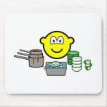 Washing up buddy icon   mousepad