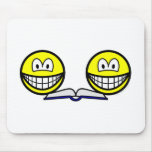 Collaborating smile   mousepad