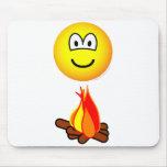 Campfire emoticon   mousepad