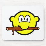 Fetching stick buddy icon Dog  mousepad