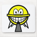 UFO smile   mousepad