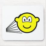 Speeding buddy icon   mousepad