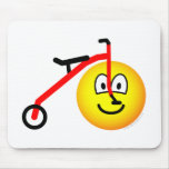 Driewieler emoticon   mousepad