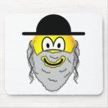 Hassidic emoticon   mousepad