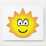 Simpson emoticon Lisa  mousepad