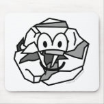 Ball of paper emoticon   mousepad