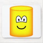 Cylinder emoticon   mousepad