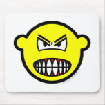 Angry buddy icon   mousepad