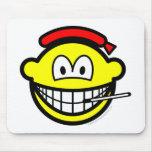 Griep smile   mousepad