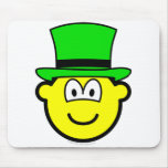 Green hat buddy icon Six Thinking Hats - Creative Lateral Thinking  mousepad