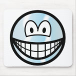 Cool smile   mousepad