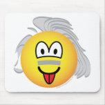 Einstein emoticon   mousepad