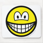 Shaken smile   mousepad