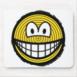 Tree rings smile   mousepad